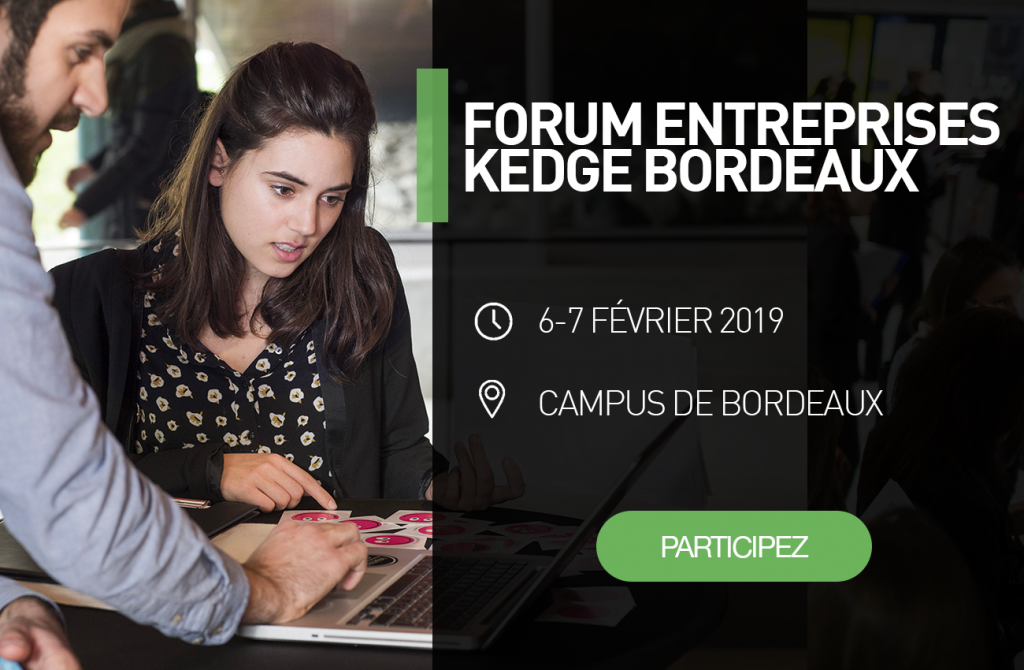 Le Jeudi 07 Février 2019 le Crédit Agricole des régions du Centre - Recrutement sera présent au forum Entreprises KEDGE Bordeaux. Campus de de Bordeaux, KEDGE Business School Bordeaux, 680 cours de la libération 33405 TALENCE CEDEX de 9h à 17h.