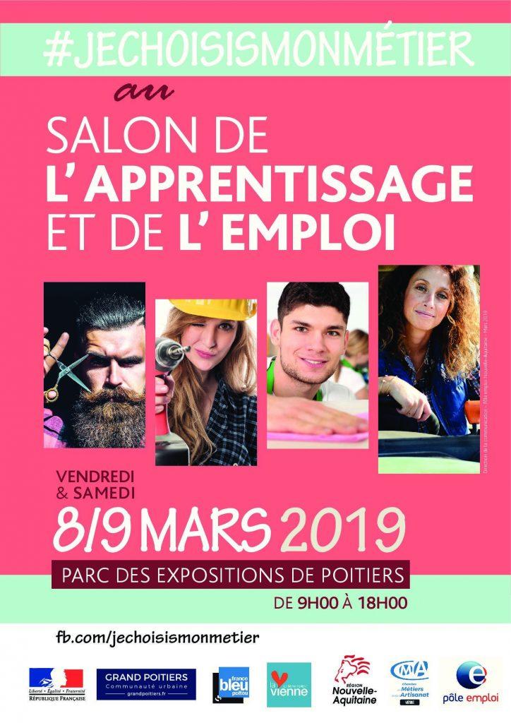 Le Crédit Agricole de la Touraine et du Poitou et Crédit Agricole des régions du Centre - Recrutement seront présents les 8 et 9 mars au Forum de l'Apprentissage et de l'Emploi, organisé par la Chambre de Métiers et de l'Artisanat de la Vienne, Pôle Emploi et Grand Poitiers.