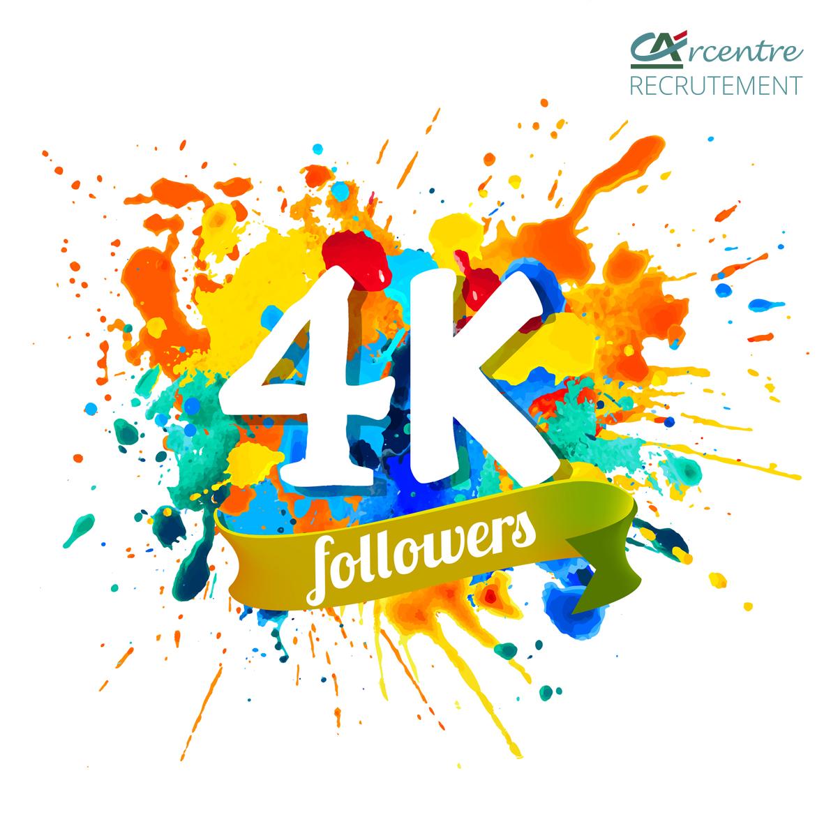Campagne réseaux sociaux: 4000 followers