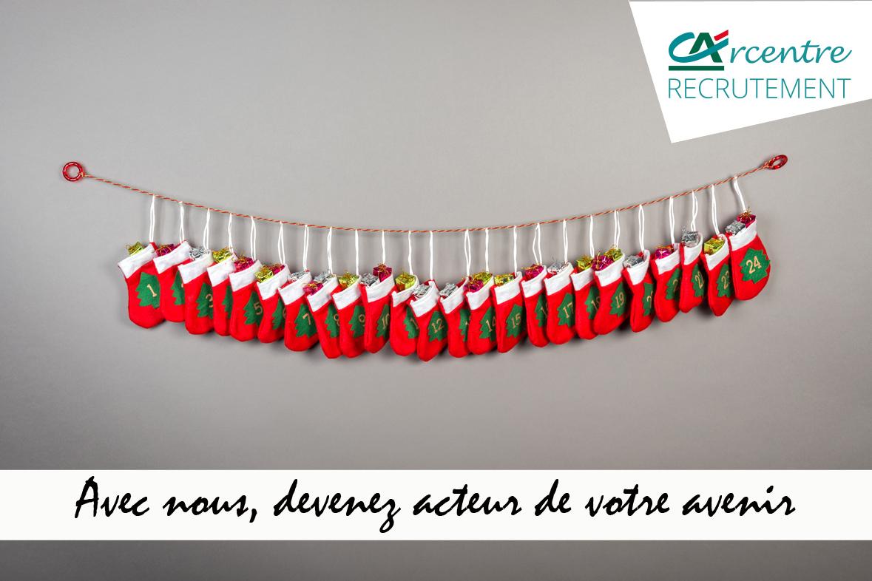 Campagne de recrutement réseaux sociaux: Calendrier de l'Avent !