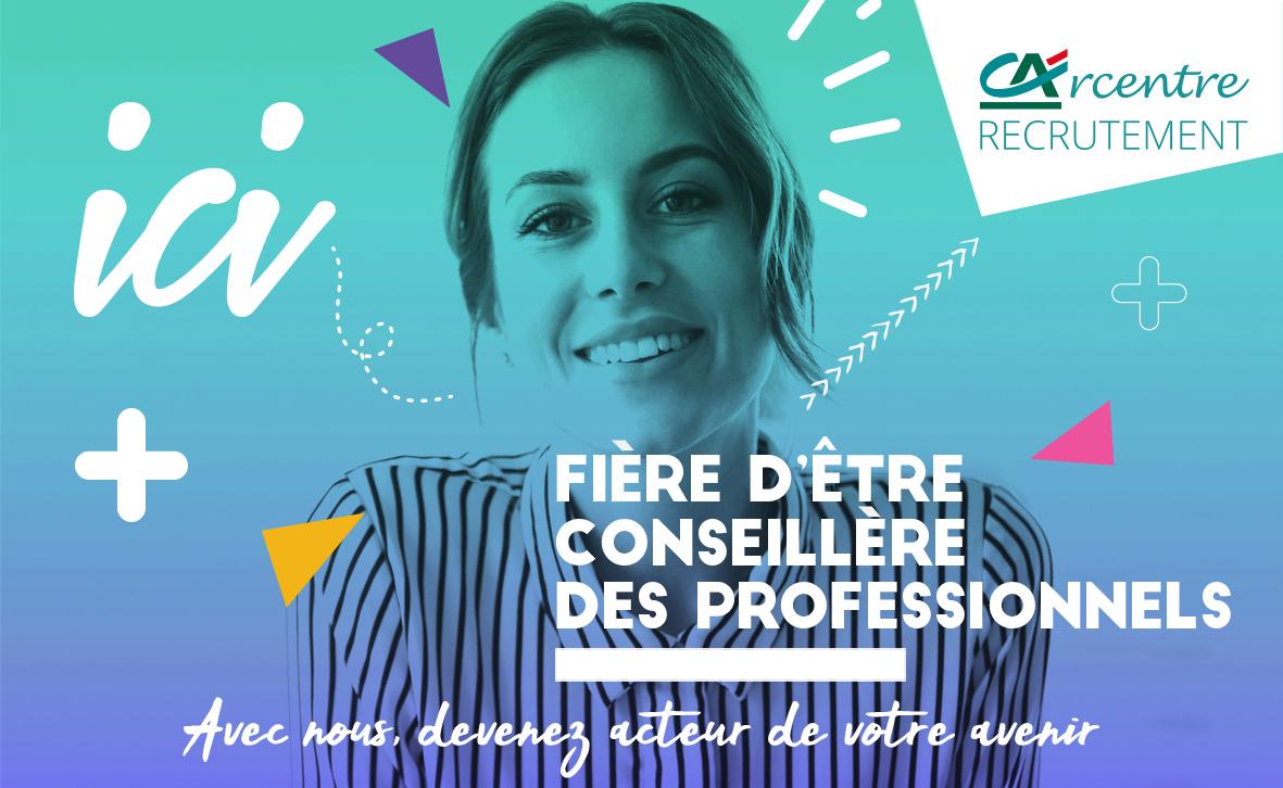 Campagne de recrutement réseaux sociaux: marché des professionnels