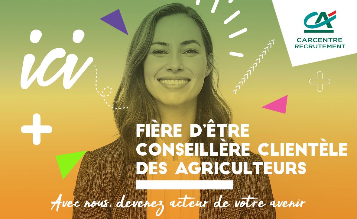 Campagne de recrutement réseaux sociaux: Conseiller clientèle des agriculteurs