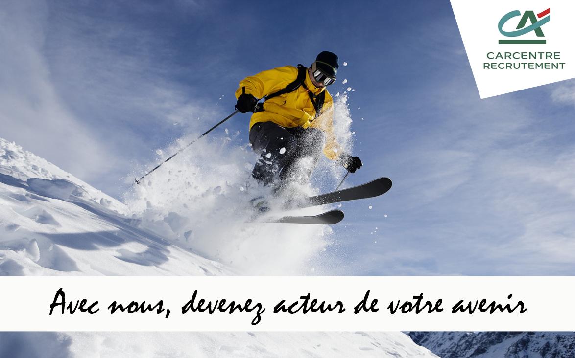 Campagne de recrutement réseaux sociaux: vacances d'hiver